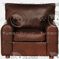 Leather Arm Chair Texture