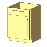 Base Cabinet, 1 Drawer & 1 Door