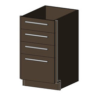 Base Cabinet, 4 Drawers