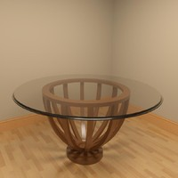 Glass Table CD25-900