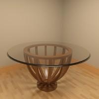 Glass Table CD25-900