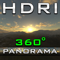 HDRI Panorama - Cloud Enough