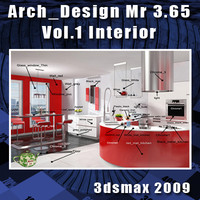 Arch e Design Collection vol.1 Mental ray 3.65