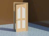 DoublePassage Door opens for renderings