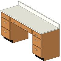 Desk w Top4