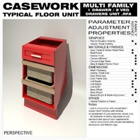 Floor Unit (1 Drawer - 2 Veg Drawers - Type A)