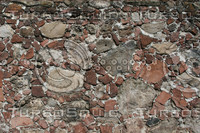 Rock texture wall