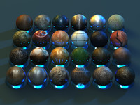 High Quality Cinema 4D Metal Materials Pack