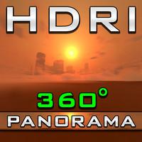 HDRI Panorama - Orange City