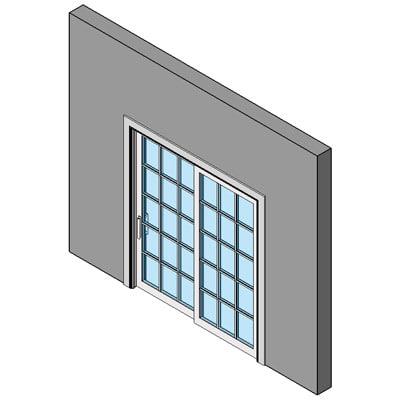 Building rfa wood door patio for Single sliding exterior door