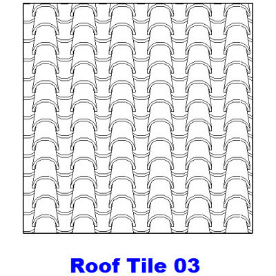 Roof tile roof tile hatch patterns for Roof tile patterns