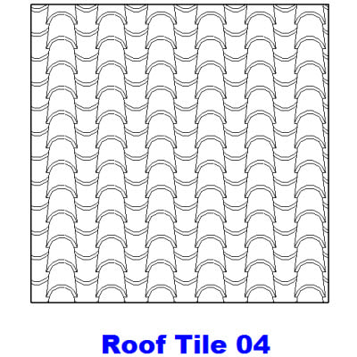 Roofing Hatch Patterns & Hatch Patterns In DWG | BiblioCAD