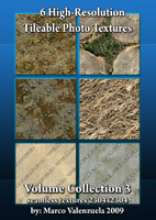 6 High-res Seamless Texture Tiles Vol. 3