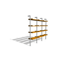Treku Bookcase - Triple Unit