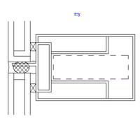 UNT-CW HOR-METAL PANEL-GLASS