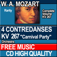 W.A. MOZART - 4 CONTREDANSES KV 267 Carnival Party
