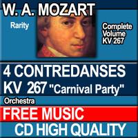W.A. MOZART - 4 CONTREDANSES KV 267 Carnival Party