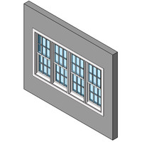 Double Hung Window, Multiple