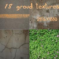 18 groud textures