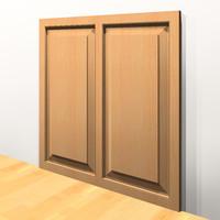 Panel-2 Horizontal Recess