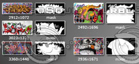 5 Graffiti collection pack2