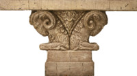 Ram Column Capital Texture