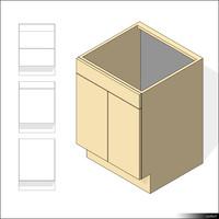 Kitchen Floor Unit 00422se