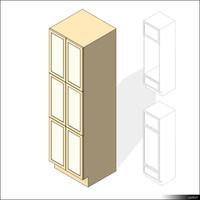Kitchen Cabinet 00445se