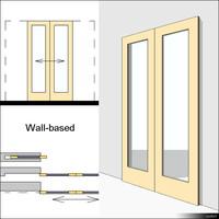 Door Sliding Double 00620se