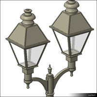 StreetLamp-floor-historic-00813se