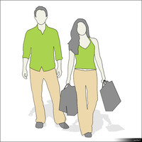 Character Man and Woman 00877se