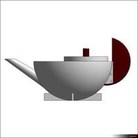 Bauhaus tee-infuser 00987se
