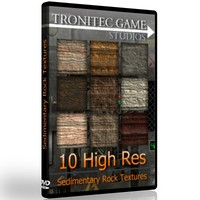 10 High Res Sedimentary Rock Textures
