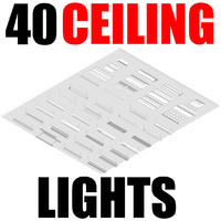40 Ceiling Lights