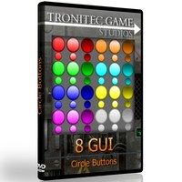 8 GUI Circle Buttons