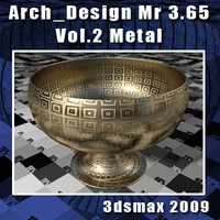 Arch e Design Collection Vol.2 Mental ray 3.65