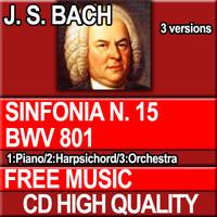 J.S. BACH - Sinfonia N. 15 BWV 801
