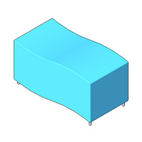Bench - Boss Design - Digit Bench - Two Seater