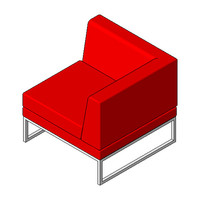 Chair - Boss Design - Layla Landscape - Corner Unit