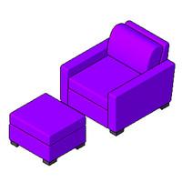 Chair - Portola - Armchair
