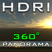HDRI Panorama - Cloudness