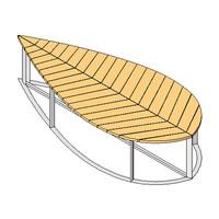 Deesawat - Leaf Bench