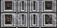 Tech panels shiny : Computer wall 5
