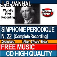 J. B. VANHAL - Simphonie periodique N. 22