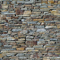 Dry Stone Wall (Sandstone)