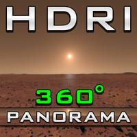 HDRI Panorama - Mars