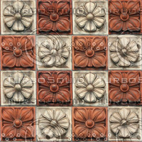 POLYCHROME TILES