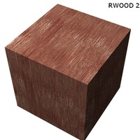 Wood - Red Wood 2