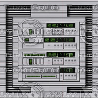 Shiny computer panel