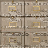Tileable Steel Drawers Texture Set